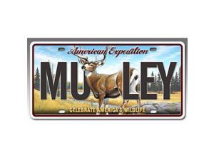Ideaman LCNS-123 License Plate - Mule Deer