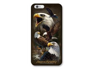 Ideaman PHN6-303 iPhone 6 Cover, Bald Eagle Collage