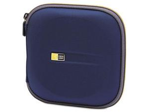 Case Logic EVW-24 CD Wallet- Holds 24 Disks- Blue