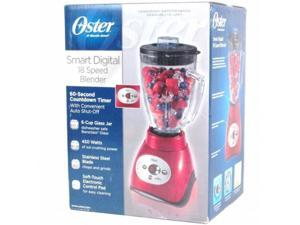Oster BLSTCD-R00RED 18 Speed Digital Blender, Red