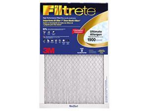 Filtrete MN16X25 1900 Ultimate Allergen Reduction Filter,  Pack Of 2