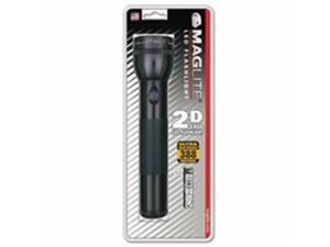 Mag-Lite 459-ST2D016 Led D-Cell Flashlight, 2 D, Black