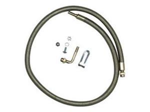 Wheelmaster 82286S Spare Tire Inf Hose Kit-Stainless Steel