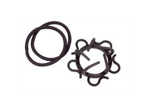 Vidal Sassoon Sure Grip Up-do with Braided Elastics Pack of 3