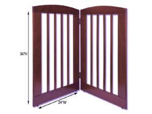 Dynamic Accents 236Dc 2, 3 & 4 Panel 36 In. Tall Pet Gate 236Dc, - Dark Cherry