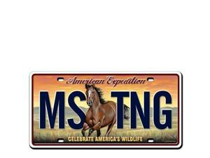 Ideaman LMAG-110 License Magnet - Mustang