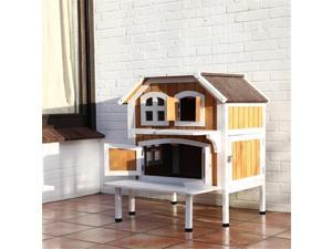 TRIXIE Pet Products 44095 2-Story Cat Cottage