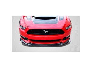 Extreme Dimensions 112248 2015-2016 Ford Mustang Carbon Creations GT Concept Front Lip Under Air Dam Spoiler