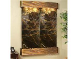 Adagio MR 1005 Majestic River Wall Fountain - Green Rainforest Marble