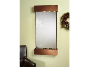 Adagio WC 3740 Whispering Creek Wall Fountain - Silver Mirror