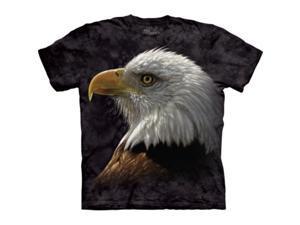 The Mountain 1038240 Bald Eagle Portrait T-Shirt - Small