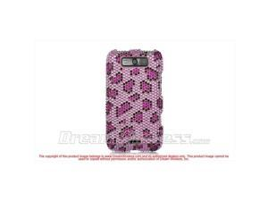 DreamWireless FDLGMS840PPLE LG Connect 4G Ms 840 Full Diamond Case, Purple Leopard