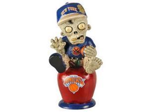 New York Knicks Zombie Figurine - On Logo