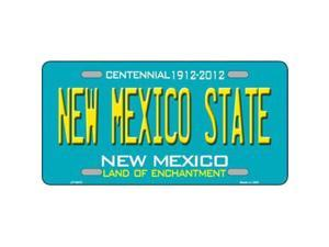 Smart Blonde LP-6670 New Mexico State Novelty Metal License Plate