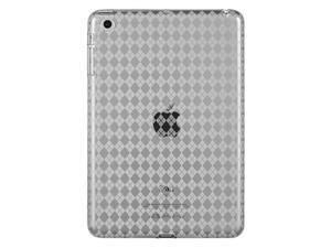 DreamWireless IPOD-CSIDMINICLCK Apple iPad Mini Crystal Skin Case - Clear Checker