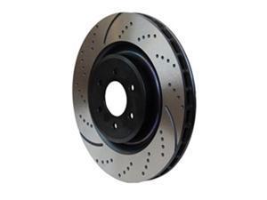 EBC BRAKES GD7241 13.6 In. Diameter Brake Rotor Set