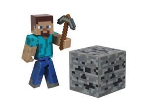 "Zoofy International BB16501 Minecraft 3"" Core Steve with Accessory -Each"