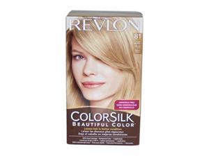 Revlon U-HC-1936 ColorSilk Beautiful Color No.81 Light Blonde - 1 Application - Hair Color