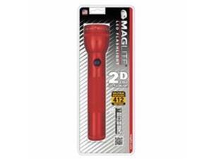 Mag-Lite 459-ST2D036 2D Led Flashlight-Red