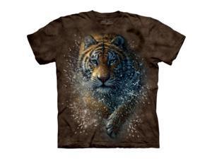 The Mountain 1033273 Tiger Splash T-Shirt - Extra Large