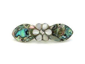 Artisana Abalone and Mother of Pearl Daisy Hair Barrette