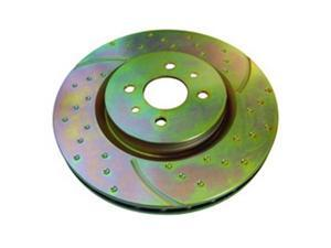 EBC BRAKES GD7345 10.2 In. Diameter Brake Rotor 2 Piece