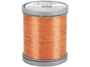 Coats - Thread & Zippers 26627 Metallic Thread 125 Yards-Copper