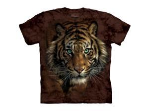The Mountain 1036832 Tiger Prowl T-Shirt - Large