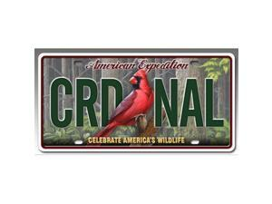 Ideaman LCNS-128 License Plate - Cardinal