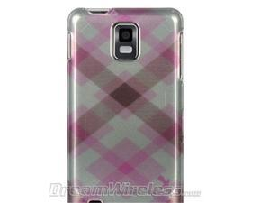 DreamWireless CASAMINFPKPTCK Samsung Infuse & I997 4G Crystal Case Pink Pastel Checker