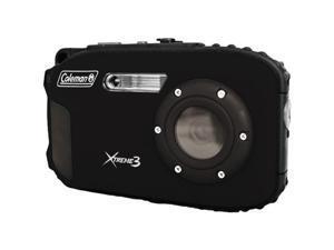 Coleman Elbc9Wpbk Coleman 20.0 Megapixel Xtreme3 Hd And Video Waterproof Digital Camera (Black)