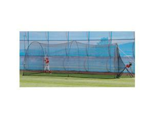 Heater BH399 Base Hit Pitching Machine And Poweralley Batting Cage