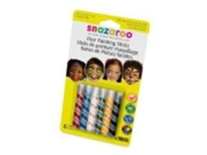 Snazaroo Face Painting Stick Set - Assorted Color, Set - 6