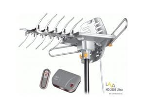 LAVA HD-2605 ULTRA UHF - VHF HDTV Antenna with Remote Control