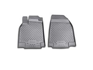 Novline 2007-2014 Mazda CX-9 Black Floor Mats