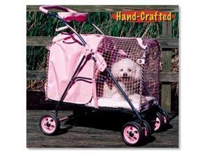 KittyWalk KWPS Pink SUV Pink Pet Stroller SUV