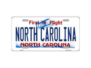 Smart Blonde LP-6460 North Carolina Novelty Metal License Plate