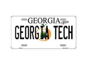 Smart Blonde LP-6138 Georgia Tech Novelty Metal License Plate