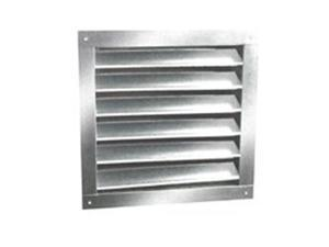 Ll Building Products DA1824 Aluminum Dual Louvers, 18 x 24 In.