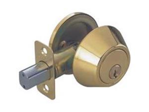 Toolbasix Deadbolt Pb S/Cyl K3 Scs Box D101PB-BP-3L