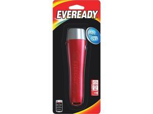 Energizer Battery EVGP21S Eveready General Purpose Led Flashlight, Red
