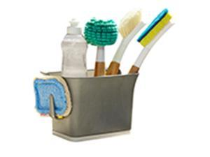 Frontier Natural Products 229163 Cleaning Solutions Bright Bin Sink Storage Caddy, Bright Graphite