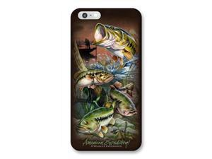 Ideaman PHN6-311 iPhone 6 Cover, Largemouth Bass Collage