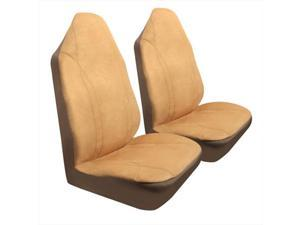 Pilot Automotive SC-399T Microsuede Seat Cover - Tan, 1 Piece