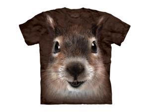 The Mountain 1037341 Squirrel Face T-Shirt - Medium