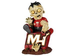 Miami Heat Zombie Figurine - On Logo
