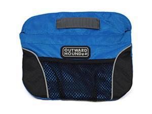 Kyjen 203270 Outward Hound Quick Access Treat N Train Bag, Blue & Black - One Size
