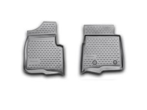 Novline 2009-2014 Ford F150 Super Cab Black Floor Mats