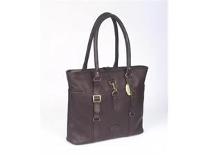 Claire Chase 798E-cafe New Ladies Computer Handbag - Cafe