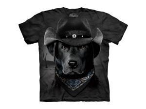 The Mountain 1037682 Cowboy Lab T-Shirt - Large